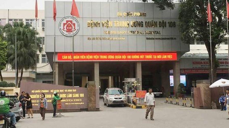 Bệnh viện T.Ư Quân đội 108 dừng tiếp nhận bệnh nhân chuyển tuyến