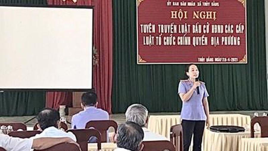 VKSND tối cao phát động thi đua nhân đợt bầu cử Quốc hội và HĐND các cấp