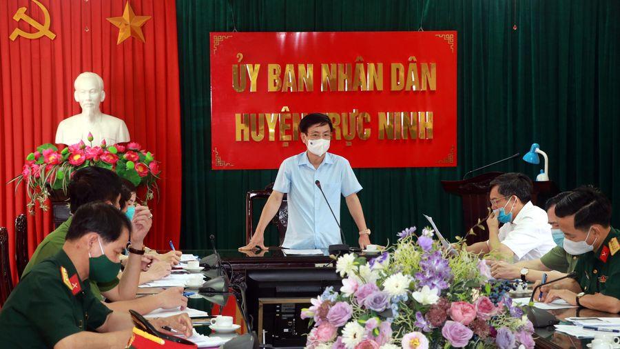 Nam Định: Con gái BN3126 dương tính lần 1 với SARS-CoV-2