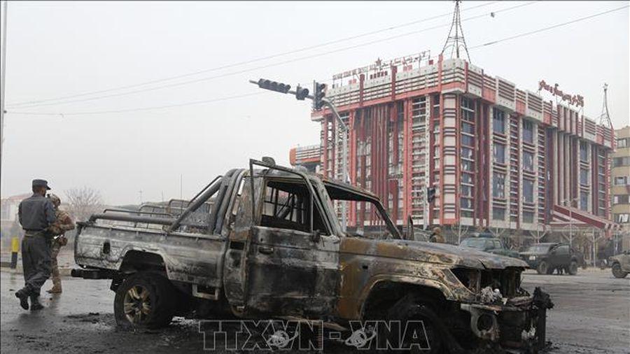 Khoảng 80 người bị thương vong trong 3 vụ nổ ở Afghanistan
