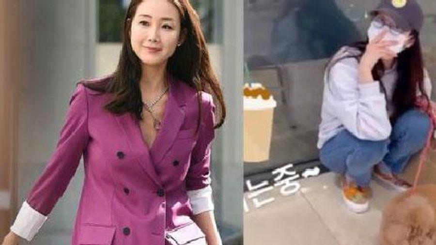 Hình ảnh mới 'nữ hoàng Hallyu' Choi Ji Woo gây sốt, nhìn là thấy sự khác biệt giữa trước và sau khi thành 'mẹ bỉm sữa'