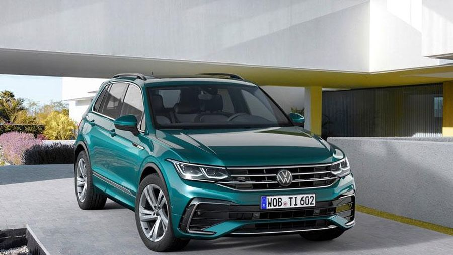 Volkswagen ngừng sản xuất Tiguan