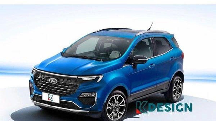 Ford EcoSport 2022 lộ diện, nỗ lực lấy lại 'ngôi vua'