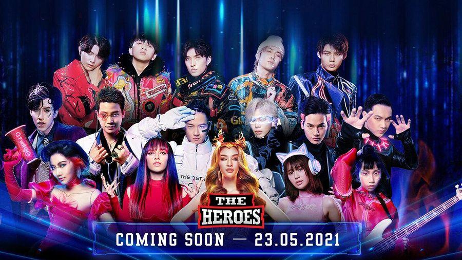 Vừa tung poster, The Heroes khiến dân mạng 'dậy sóng' trước khoảnh khắc 'cool ngầu' của 12 chiến binh