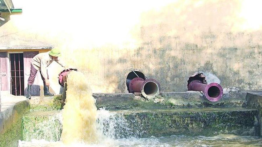 Bảo đảm nguồn nước phục vụ sản xuất mùa nắng nóng