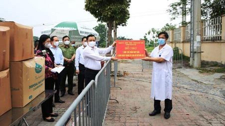Bí thư Thành ủy Hà Nội Đinh Tiến Dũng: 'Chống dịch như chống giặc' song song với duy trì phát triển kinh tế