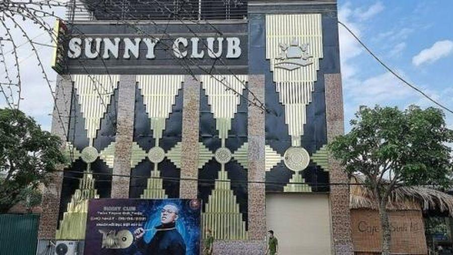 Vĩnh Phúc: Thu hồi giấy phép kinh doanh của quán bar - karaoke Sunny