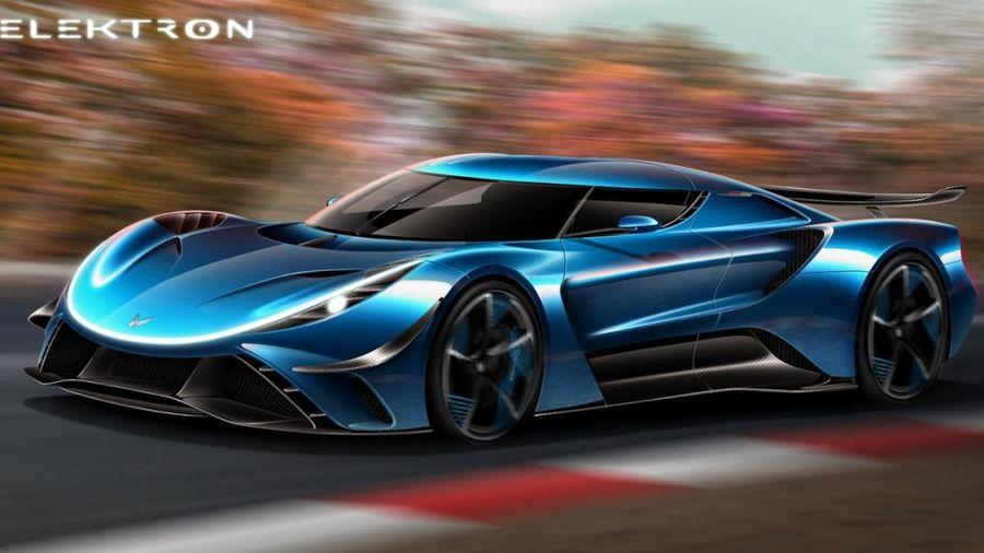 Elektron ra mắt siêu xe điện mạnh 2.300 mã lực