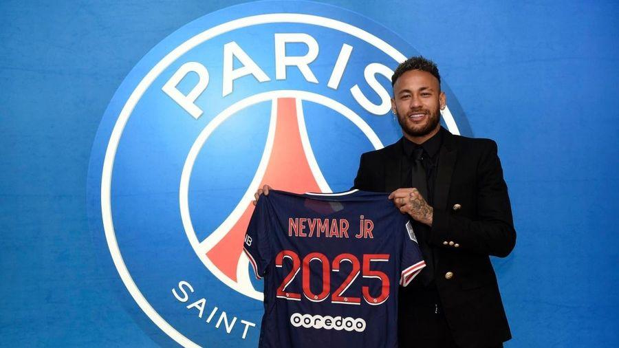 PSG chính thức 'trói chân' Neymar tới năm 2025