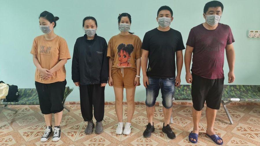 Quảng Ninh phát hiện, bắt giữ 5 đối tượng nhập cảnh trái phép