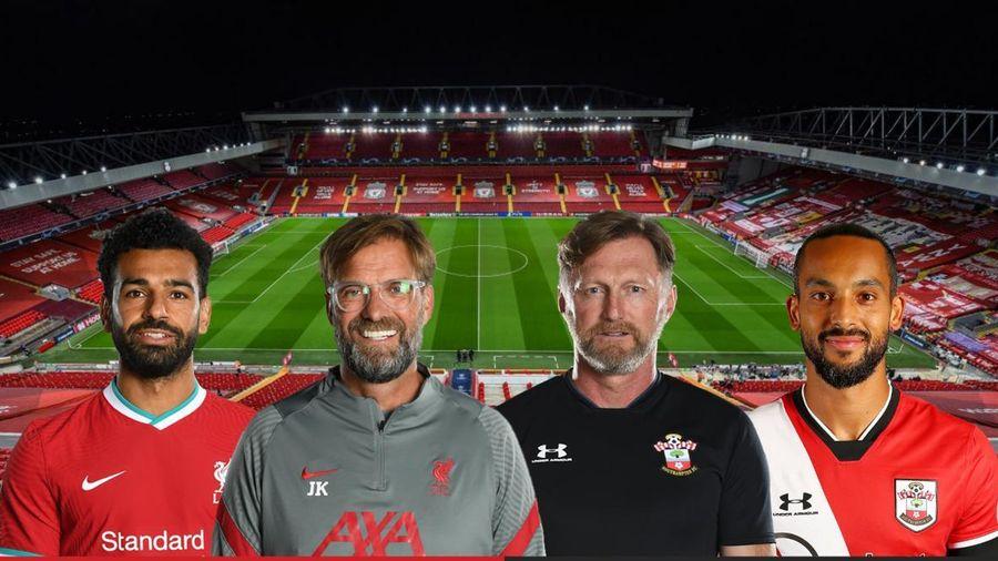 Dự đoán tỷ số, đội hình xuất phát trận Liverpool - Southampton