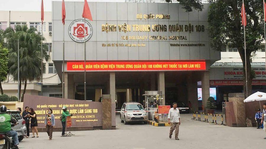 Bệnh viện Quân đội 108 tạm dừng tiếp nhận bệnh nhân chuyển tuyến