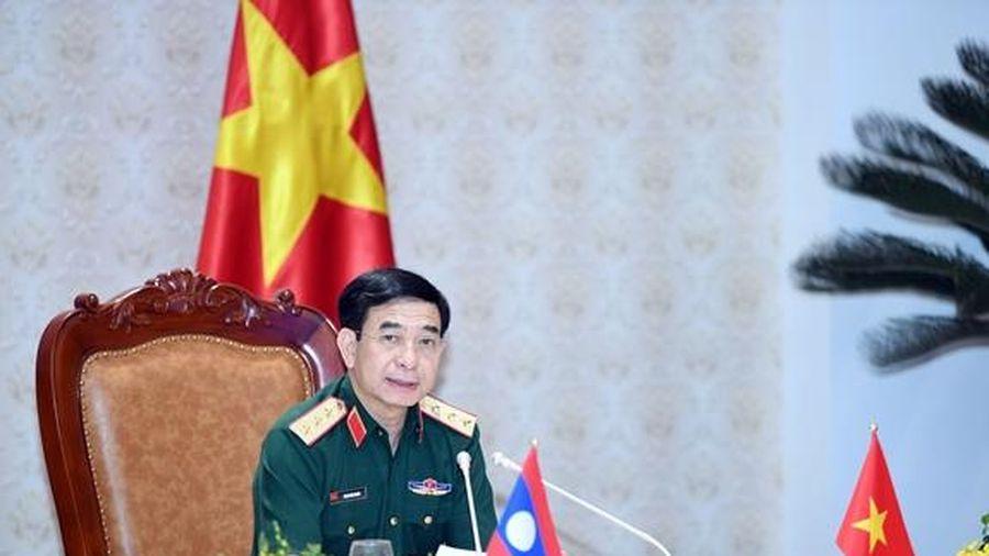 Đưa hợp tác quốc phòng Việt Nam - Campuchia đi vào chiều sâu