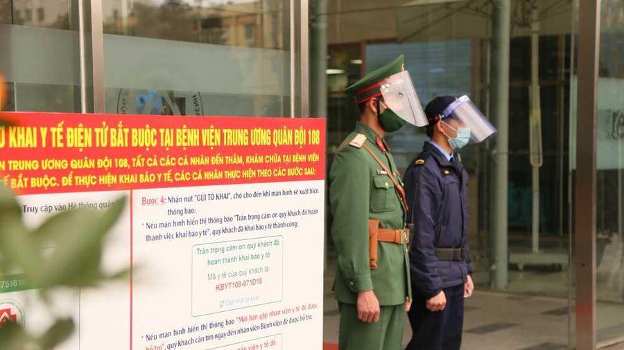 Bệnh viện Trung ương Quân đội 108 dừng tiếp nhận bệnh nhân chuyển tuyến