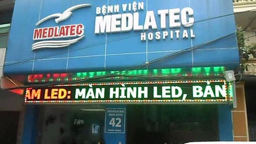 Lập danh sách người đến Bệnh viện Đa khoa Medlatec từ ngày 3-5