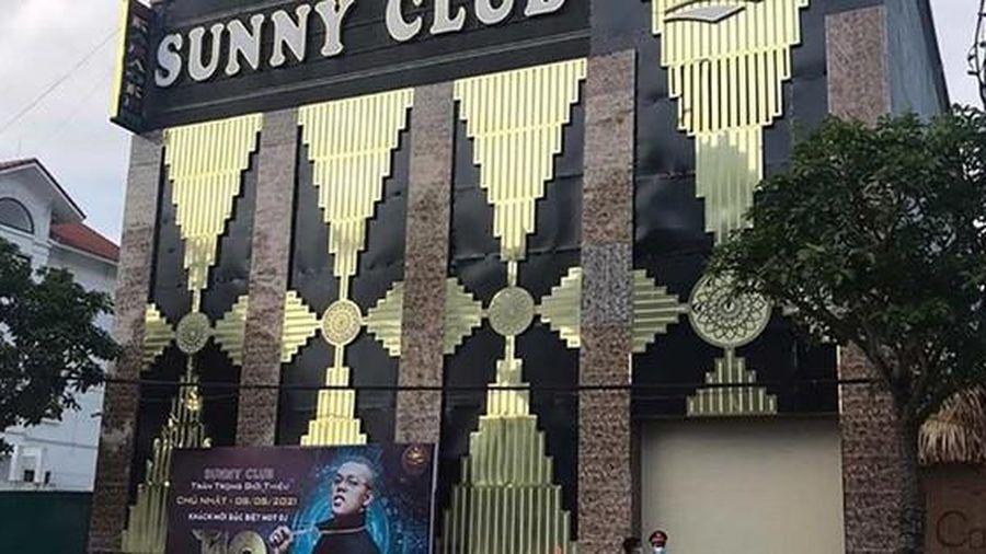 Vĩnh Phúc: Công an điều tra thông tin 'clip nóng' được cho diễn ra tại 'ổ dịch' quán bar Sunny