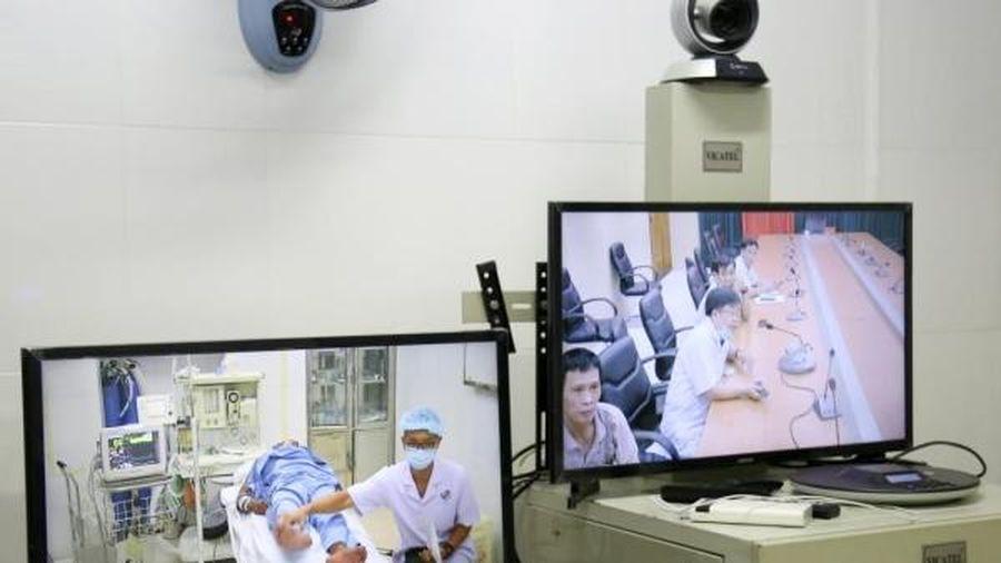Cấp cứu ngư dân Trường Sa đột quỵ não qua Telemedicine