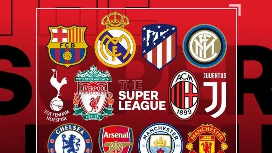Super League đã phải tạm dừng UEFA phạt nặng các CLB sáng lập Super League