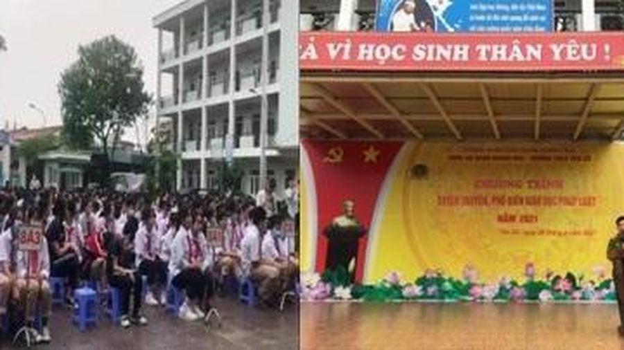 Hành trang ý nghĩa đối với hàng trăm em học sinh trường Trung học cơ sở Yên Sở