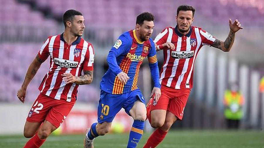 Barcelona-Atletico Madrid hòa, Real Madrid có tận dụng cơ hội?