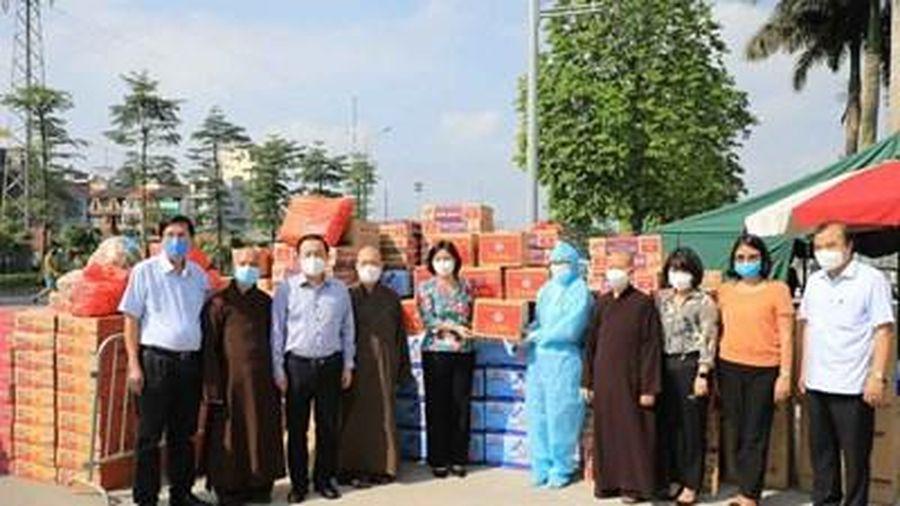 Hà Nội trao quà hỗ trợ Bệnh viện K cơ sở Tân Triều
