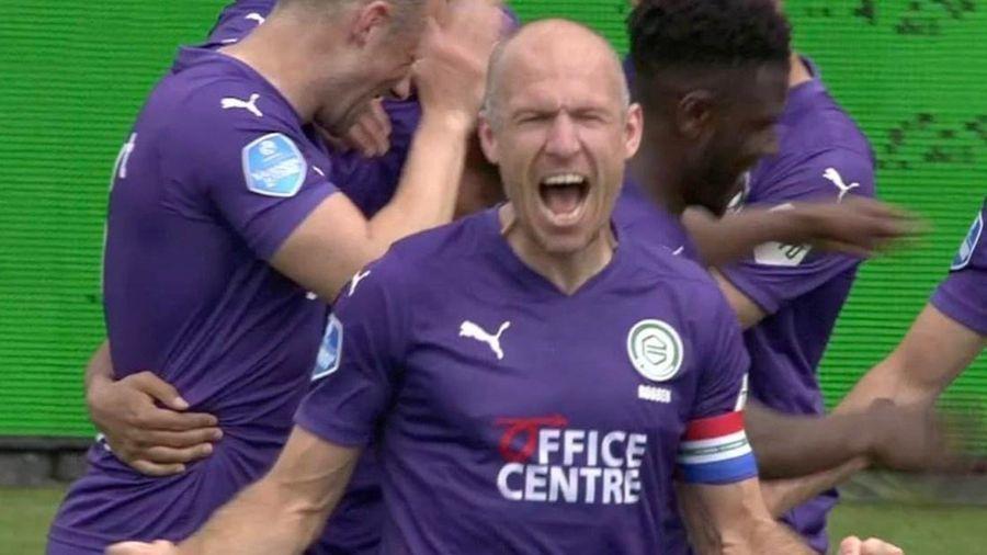 Robben ghi dấu ấn ngay lần đầu đá chính sau 238 ngày