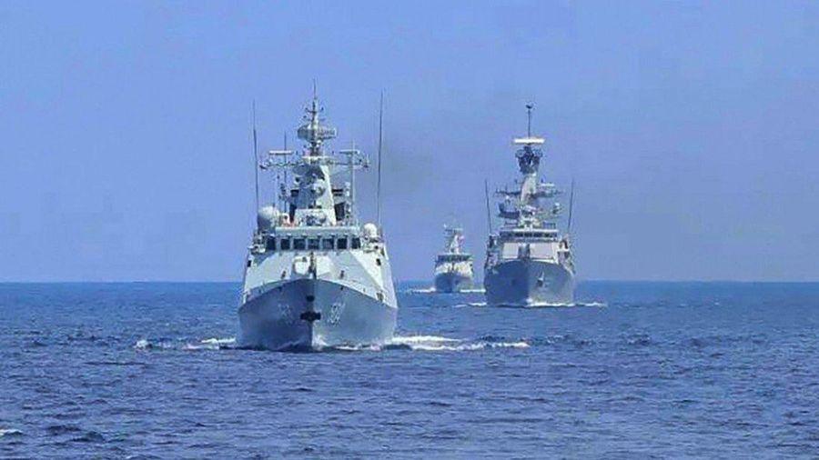 Hải quân Trung Quốc và Indonesia tập trận chung