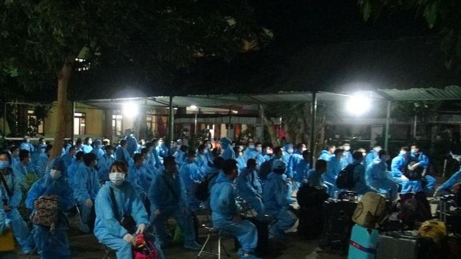 Quảng Ngãi tiếp nhận cách ly có thu phí 236 công dân trở về từ Đài Loan