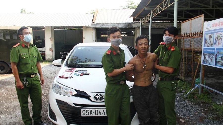 Hậu Giang: Bắt đối tượng cướp ô tô chỉ sau gần 5 giờ gây án