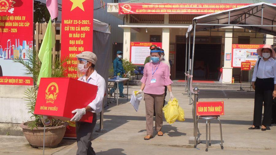 Đà Nẵng: Diễn tập phòng, chống COVID-19 phục vụ bầu cử