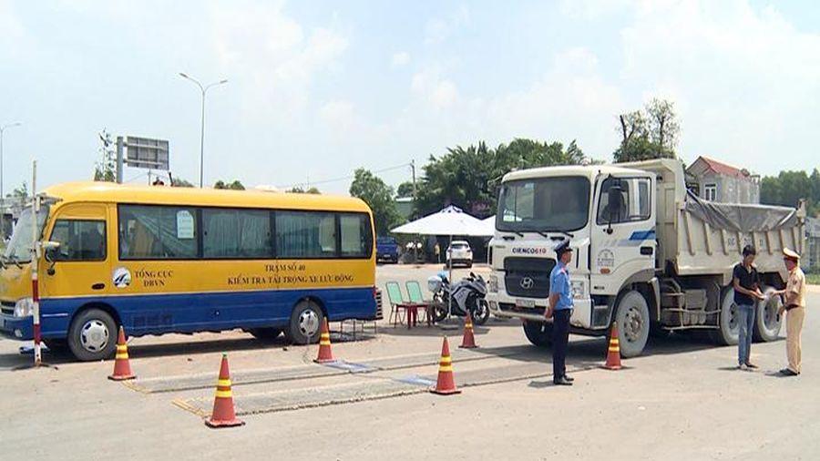 Quyết liệt xử lý xe chở quá tải trọng ở Đồng Nai