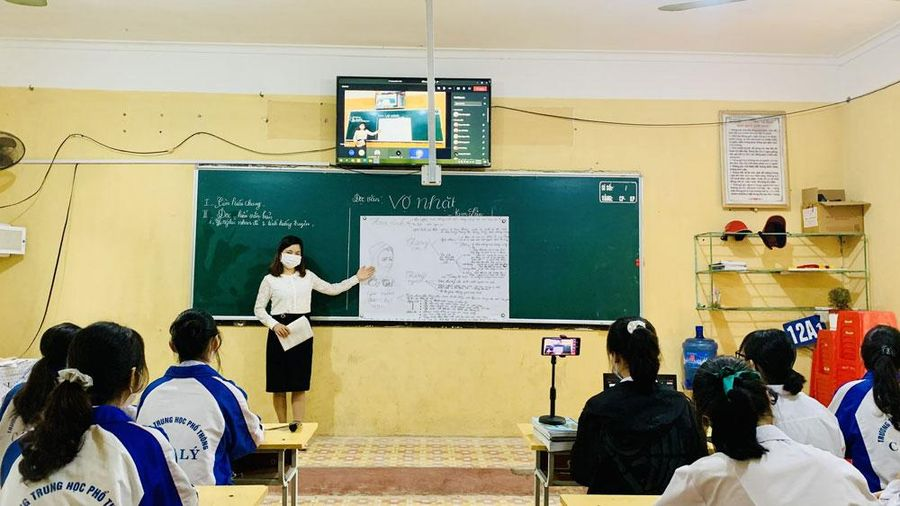 Bắc Giang chuyển học trực tuyến từ 10/5