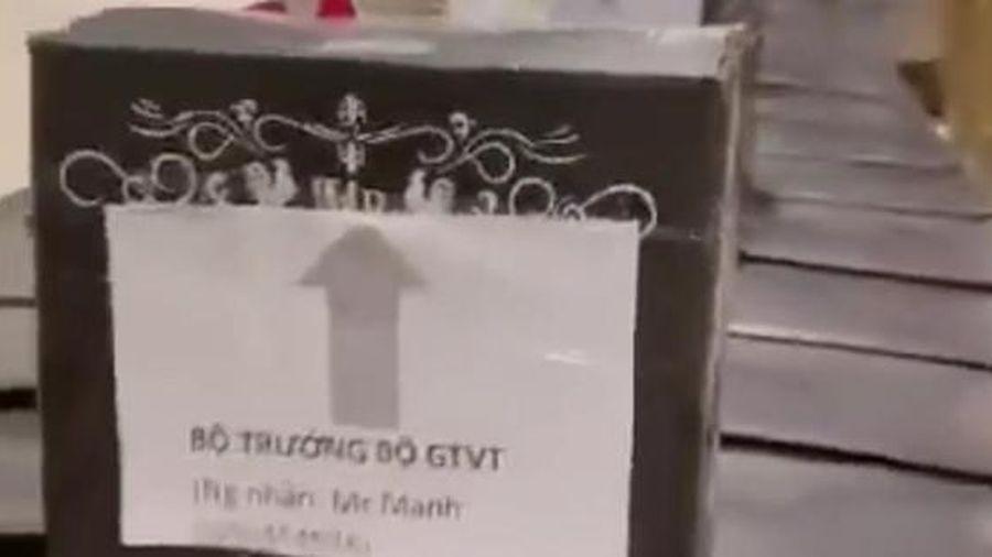 Bị 'mượn danh' gửi rượu, Bộ trưởng Nguyễn Văn Thể có quyền yêu cầu bồi thường
