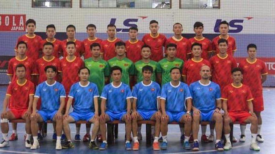 Futsal Việt Nam đá giao hữu với Iraq tại UAE