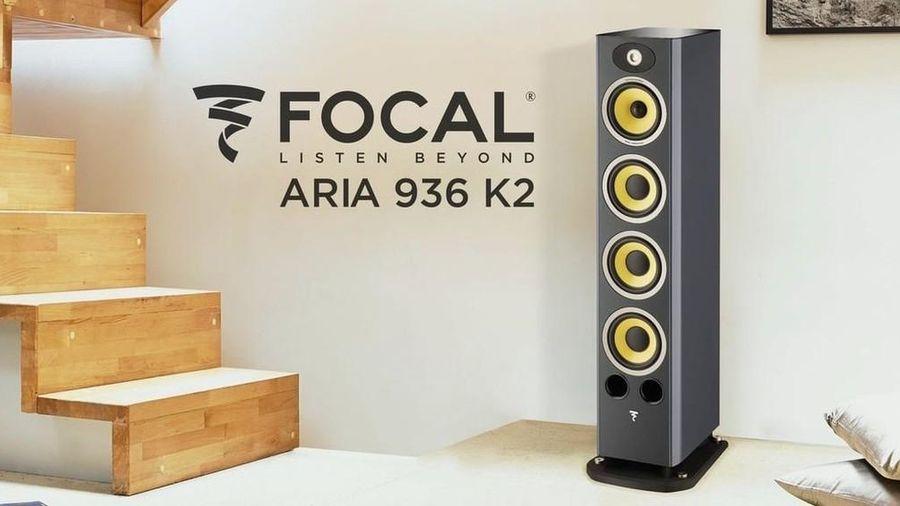 Aria K2 936, thiết kế loa limited độc nhất của Focal sở hữu driver 'vàng' K2Power