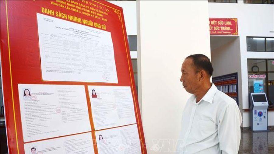 Đắk Lắk tổ chức hội nghị tiếp xúc cử tri, vận động bầu cử trực tuyến