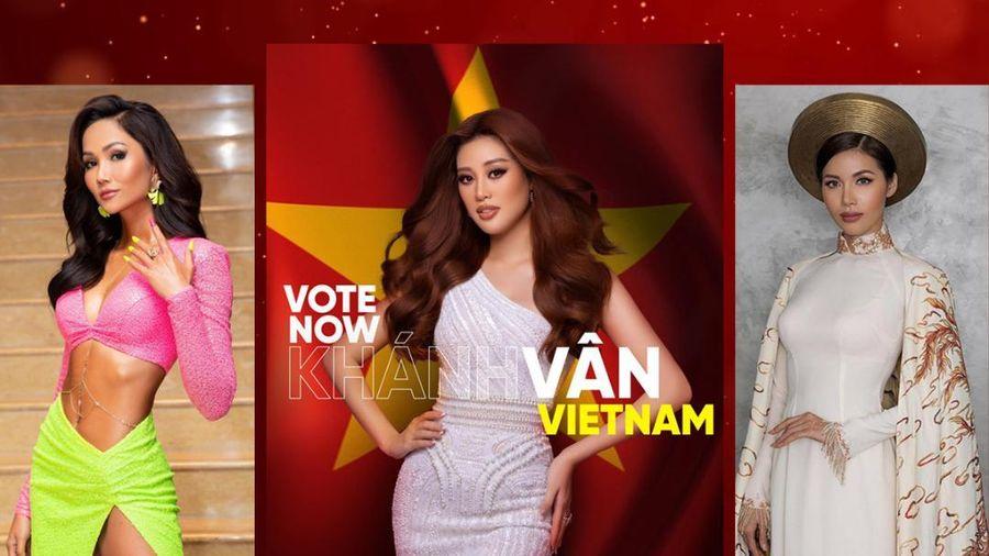 H'Hen Niê mạnh tay chi 20 triệu, Minh Tú ủng hộ 1000 vote để đưa Khánh Vân chắc suất Top 21 Miss Universe