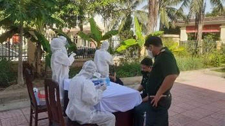 Hà Tĩnh: Thêm một trường hợp nhập cảnh từ Lào dương tính với SARS-CoV-2