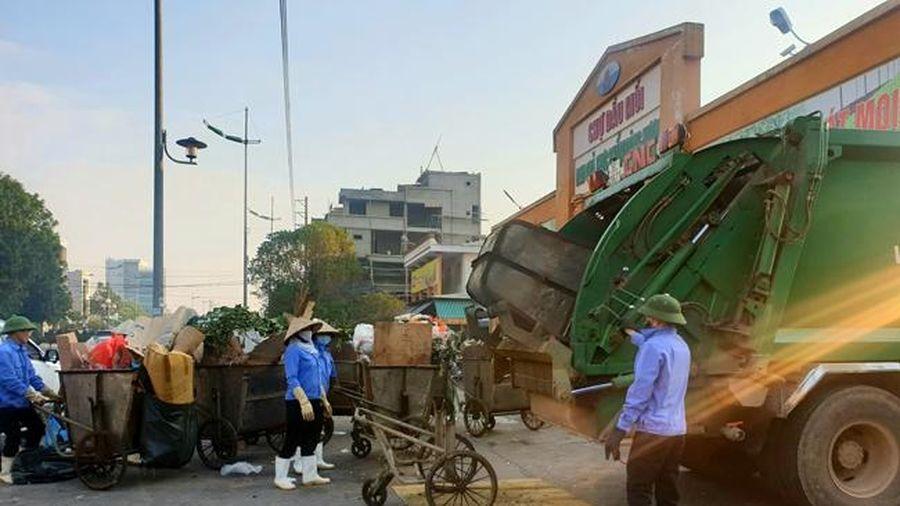 Đẩy mạnh công tác bảo vệ môi trường đô thị