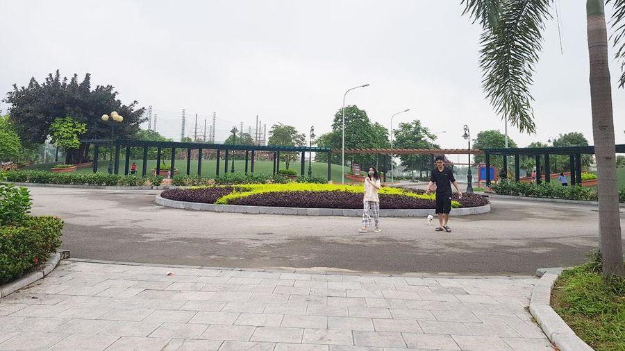 TP Bắc Giang: Đóng cửa các công viên, khuôn viên, khu vui chơi từ chiều 9/5