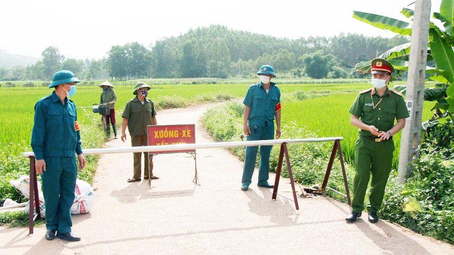 Bắc Giang: Thiết lập vùng cách ly y tế tại một số khu vực