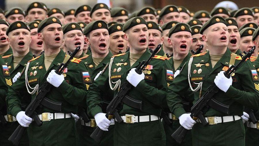 Liên bang Nga duyệt binh kỷ niệm 76 năm Chiến thắng phát xít