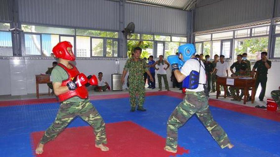 Bế mạc hội thao võ chiến đấu tay không lực lượng vũ trang năm 2021