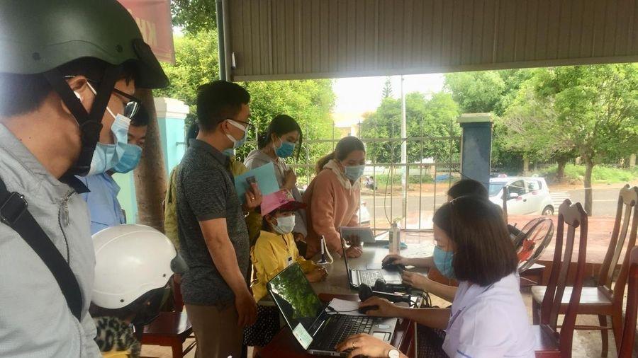 4 người ở Đắk Nông tiếp xúc với BN 3141 cho kết quả âm tính lần 1 SARS-CoV-2