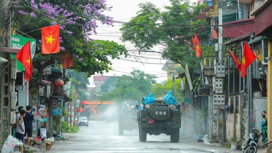 92 ca mắc COVID-19 ghi nhận tại 12 tỉnh, thành trong ngày 9/5