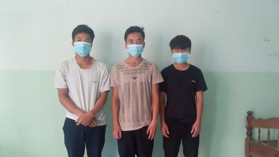 Quảng Nam cách ly 3 người Mông nhập cảnh trái phép