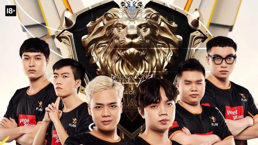 Team Flash 'hủy diệt' Sài Gòn Phantom để trở lại ngôi vương