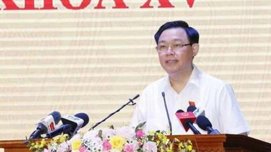 Chủ tịch Quốc hội Vương Đình Huệ: Quan trọng nhất là thực hiện hiệu quả chương trình hành động
