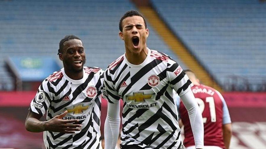 Ngược dòng hạ Aston Villa, Man Utd ngăn Man City vô địch sớm