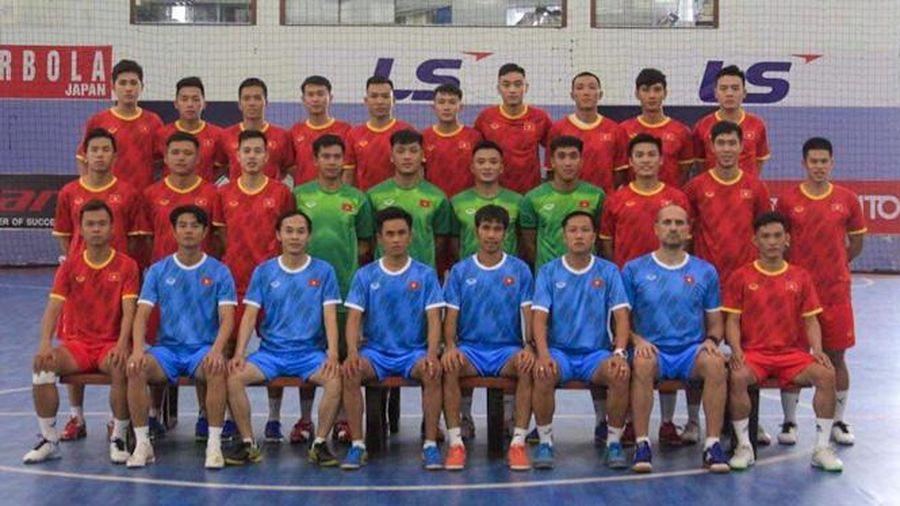 Đội tuyển futsal Việt Nam chốt lịch đá giao hữu với đội tuyển Iraq tại UAE